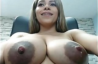 Cam Girl Shoots Milk Out Of Her Epic Titties! See More