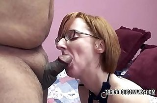 Horny wife Layla Redd takes some black dick in her mature pussy