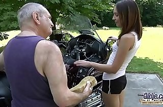 OLD YOUNG PORN Grandpa Fucks Teen Hardcore blowjob young blonde girl pussy