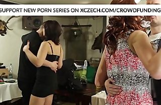 Wedding orgy session with girls who are hard fucked by big cocks