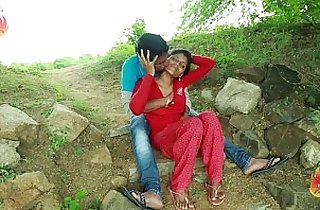 Village Aunty With her Neighbour In Outdoor Latest Telugu Romantic Short