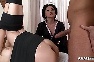 Japanese Anal Threesome session With Geishas Ivana Sugar And Alice