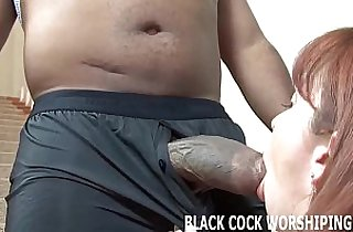 His big black mamba cock is going to fill my ass with cum