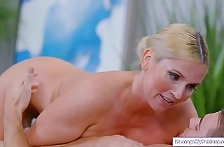 Guy gets a nuru massage from motherinlaw