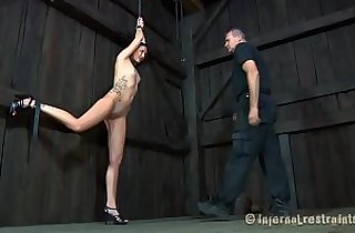 Zealous sex toy act for babe