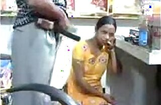 Indian Young and Sexy caught fucking in store room Wowmoyback