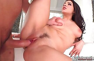 All Internal sensual creampie for Italian big tit babe