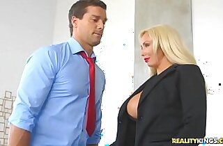 RealityKings Big Tits Boss Hyped And Horny