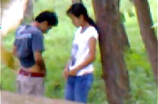 Desi girlfriend outdoor fucking with indian and bangla
