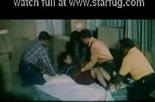 Mallu Babe Forced Fucked by a Group