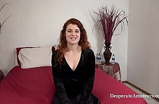 Full figure casting desperate amateurs first time film for money